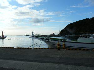 勝山漁港 駐車場