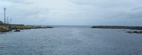 乙浜港 沖合