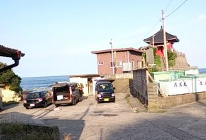 岩船港 駐車場