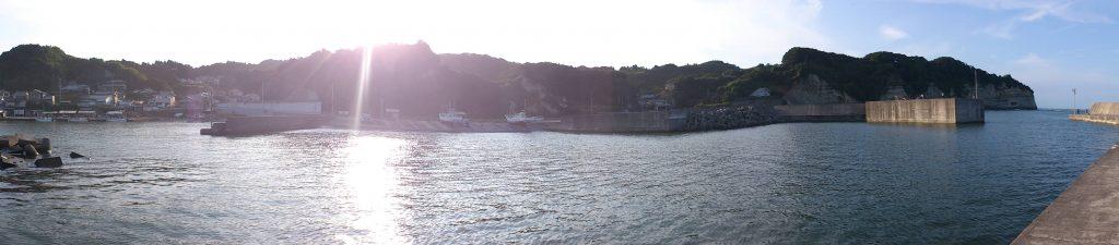 岩船港 全景