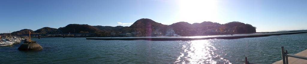 上総湊港 全景02