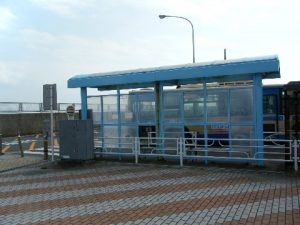 本牧海づり施設 バス停留所