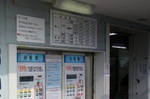本牧海づり施設 入場券販売機