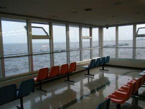 本牧海づり施設 展望室