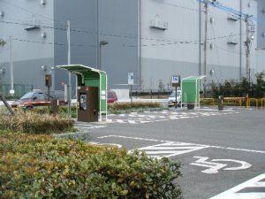 東扇島西公園 駐車場01