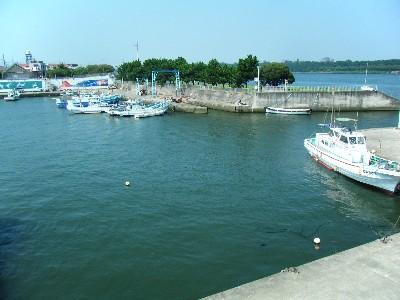平塚漁港 入口付近 ポイント