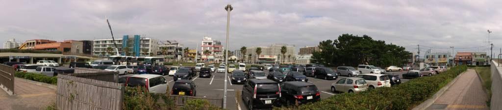 片瀬漁港 駐車場