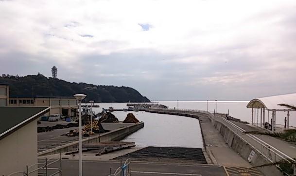 片瀬漁港 全景