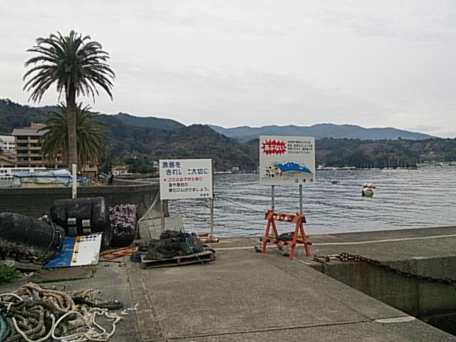 内浦港 釣り禁止02