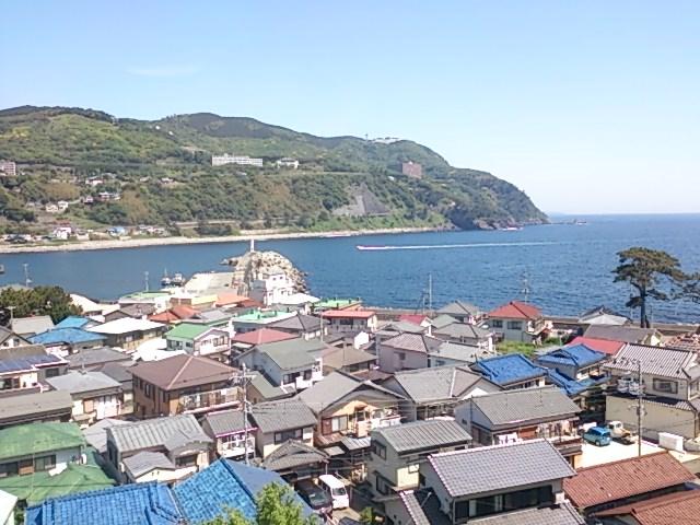 稲取港 全景02