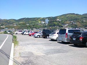 稲取港 駐車場