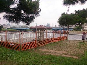 新木場公園 立ち入り禁止区域02