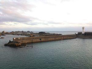 太海港 メイン堤防
