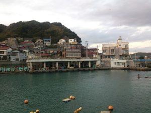 太海港 橋脚型駐車場