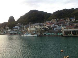 太海港 住居密集地