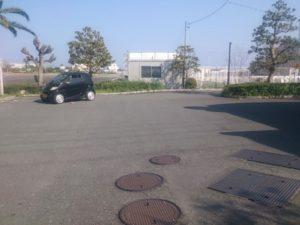 大井川港 駐車場