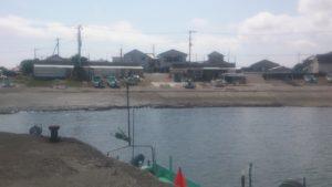 原港 漁船用スロープ