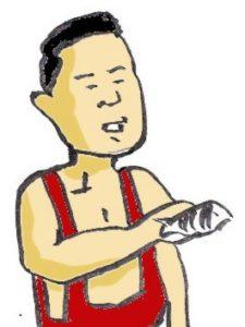 太海港 サトシ ポッキン金太郎