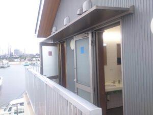鹿島港魚釣園 トイレ