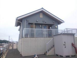 鹿島港魚釣園 管理棟