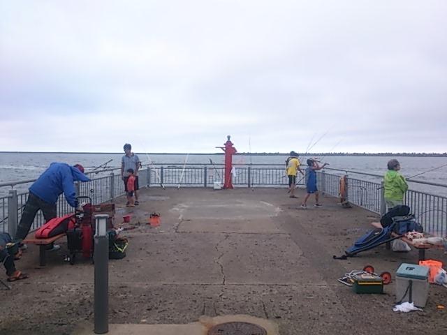 鹿島港魚釣園 先端