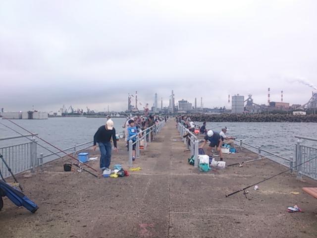 鹿島港魚釣園 ポイント
