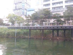 ポートサイド公園 デッキ