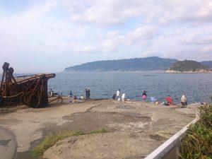 龍島港 岸壁01