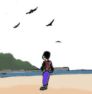 金谷漁港 サトシトンビに語る