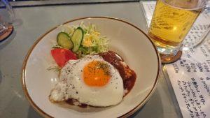 横須賀 どぶ板食堂perry ロコモコ