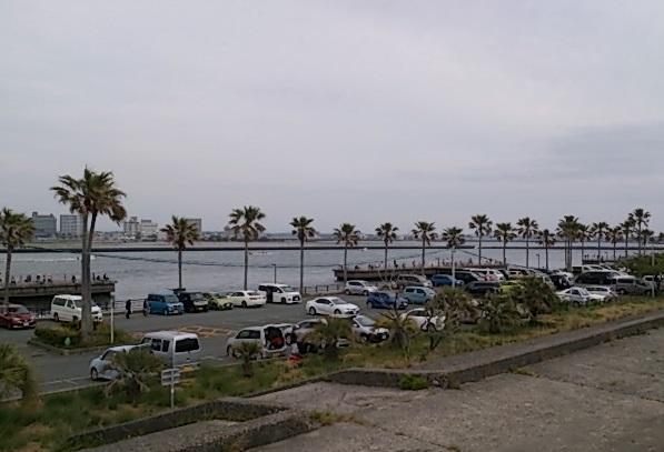 浜名湖 新居海釣公園 駐車場02