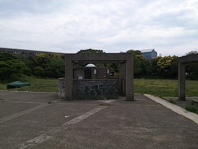 長浜水路 トイレ