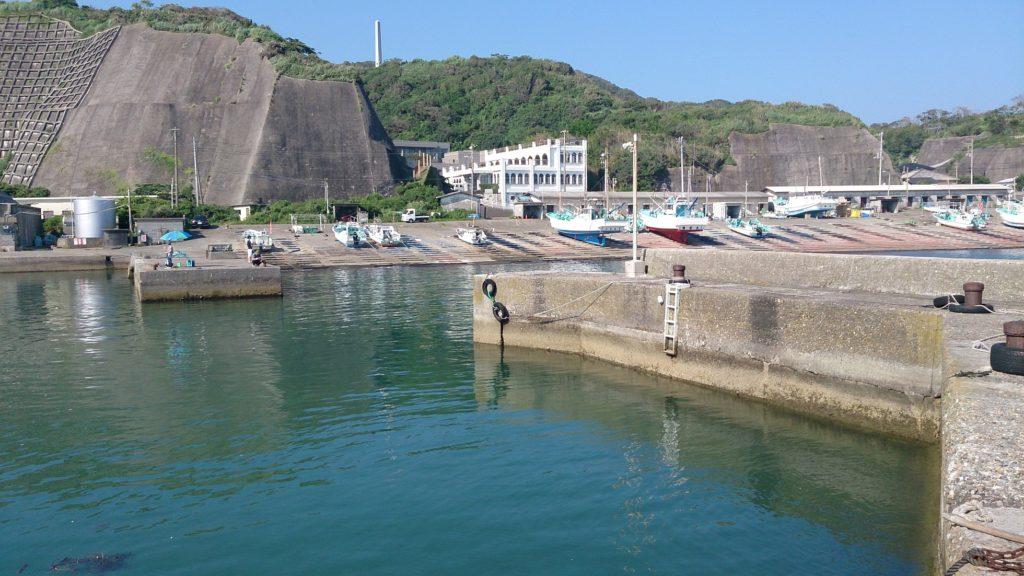 御宿岩和田漁港全景