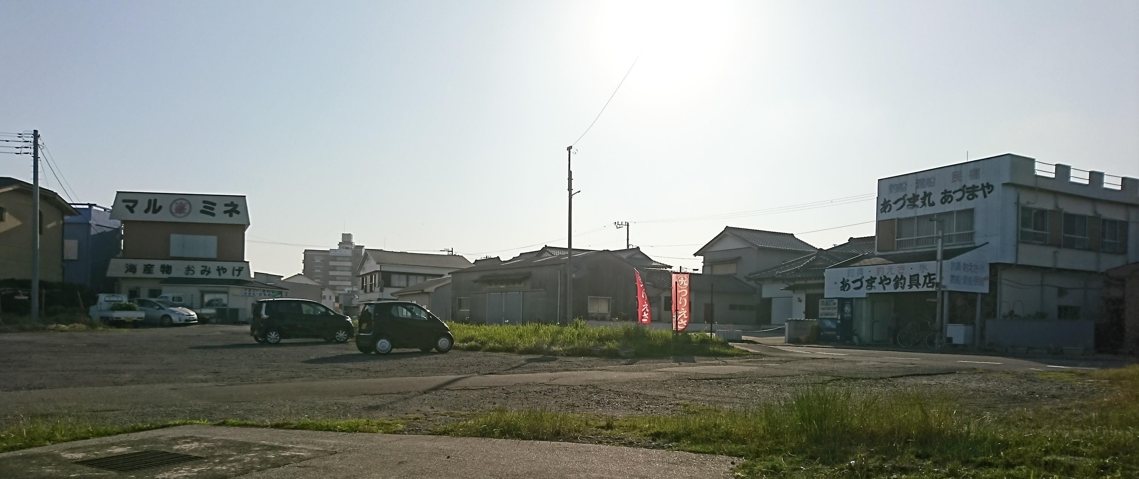 野島崎西港 駐車場01