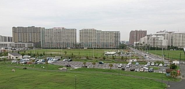 高洲海浜公園 駐車場