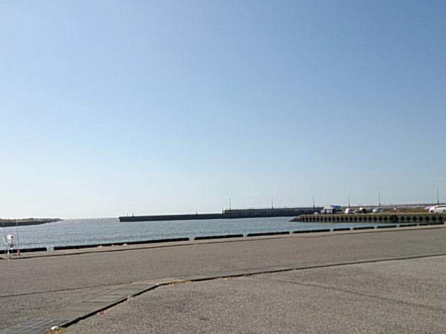 飯岡漁港 駐車場02