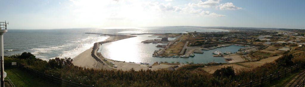 飯岡漁港全景03