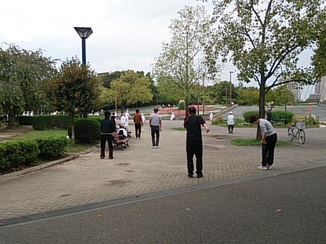 木場公園 ラジオ体操