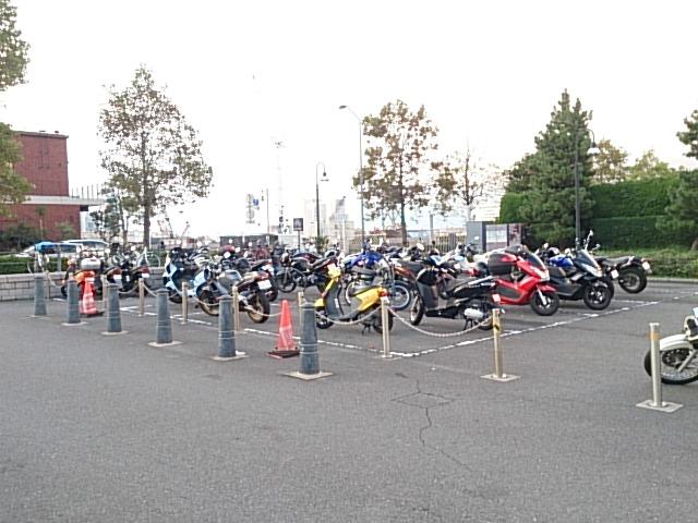 赤レンガパーク 駐輪場