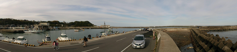 日立会瀬港全景
