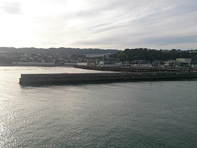 日立会瀬港 右堤防突堤