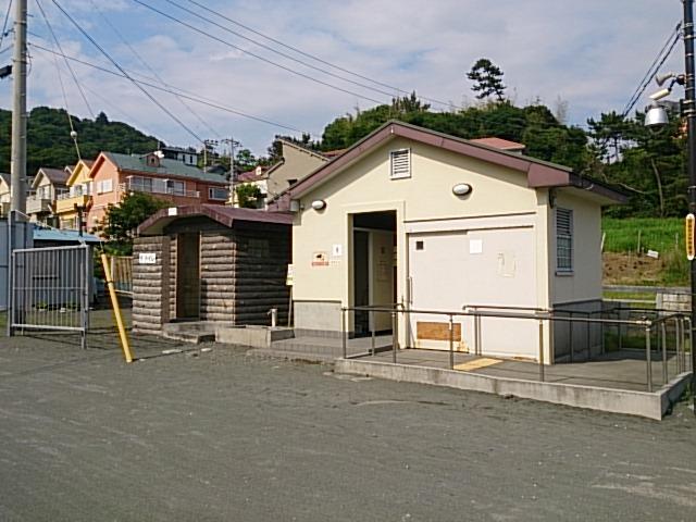 梅沢海岸 トイレ