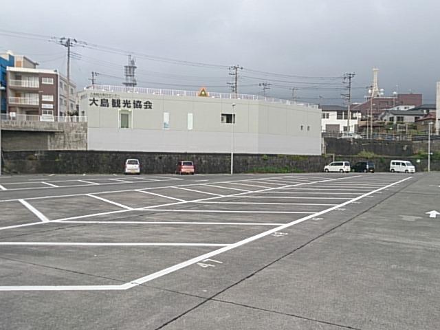 大島 元町港 駐車場01