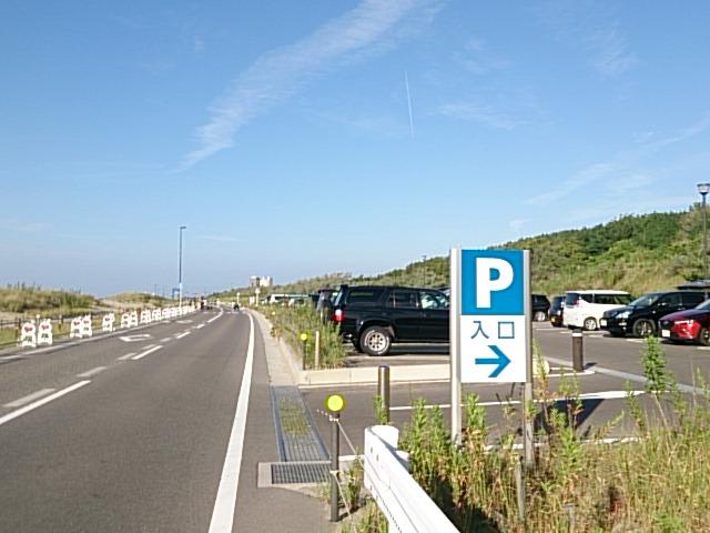 西海岸第一突堤駐車場
