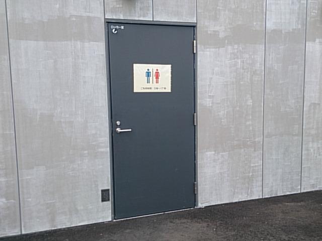 大島 岡田港トイレ