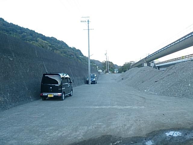 西倉沢漁港 駐車場01