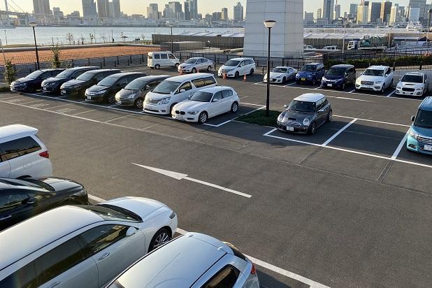 豊洲ぐるり公園駐車場02