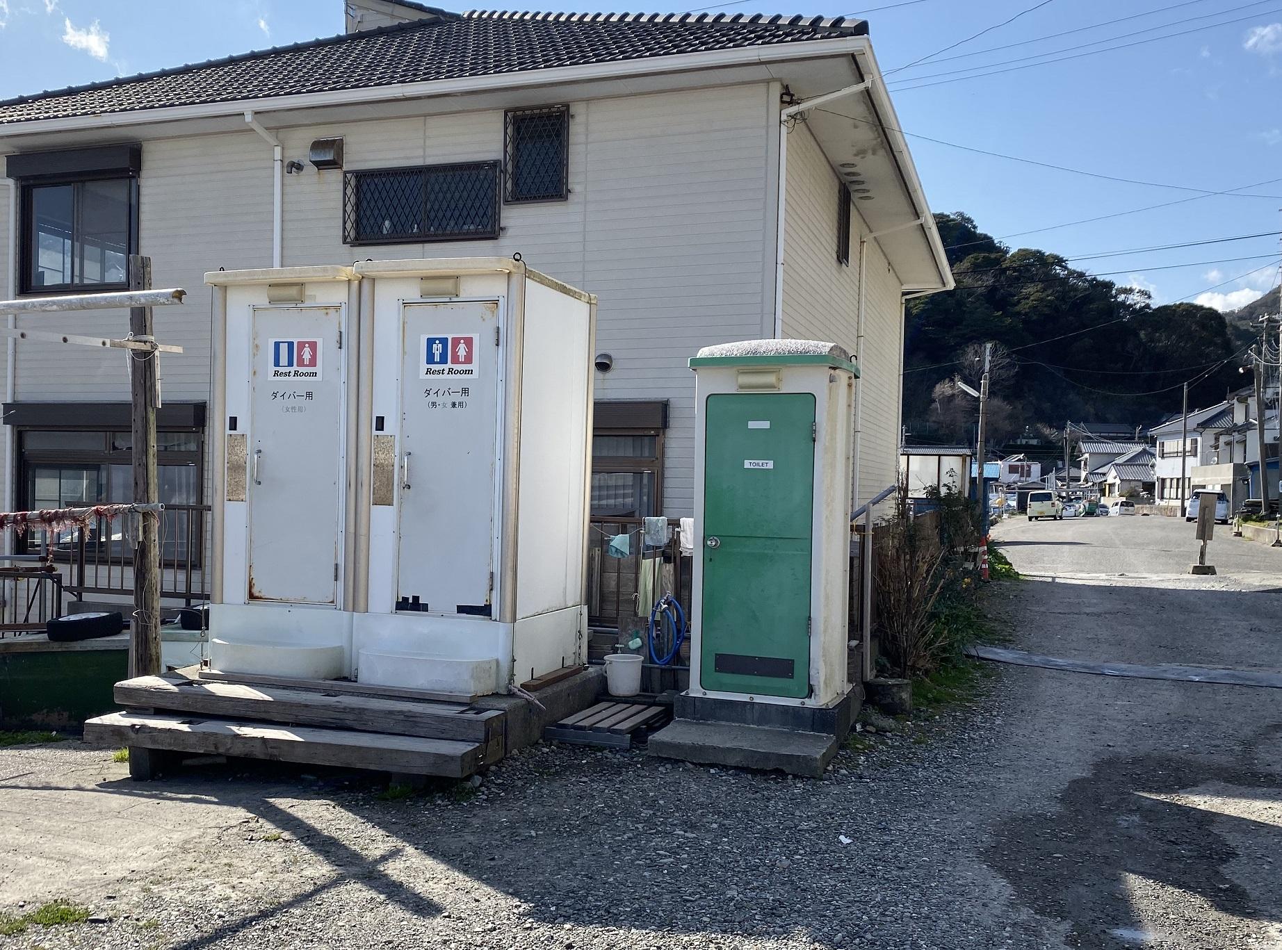 浜行川漁港 トイレ