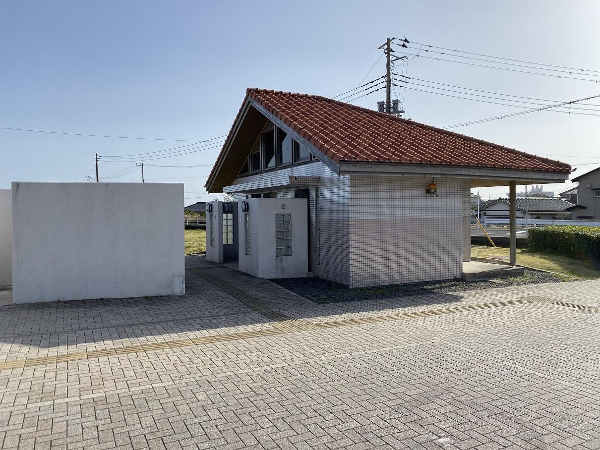 塩浦海水浴場トイレ