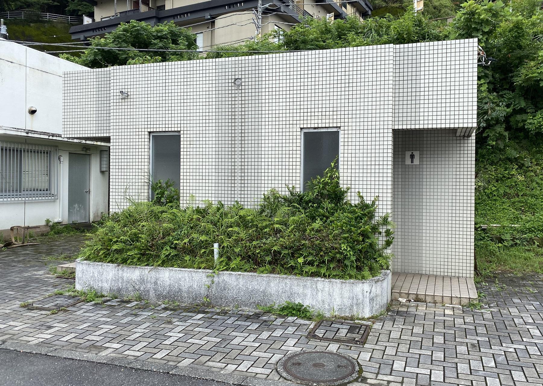 コバルト堤防トイレ
